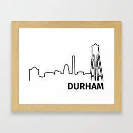 Durham Framed Art Print