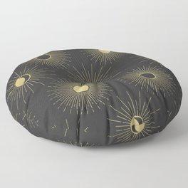 Moon and Sun Theme Floor Pillow