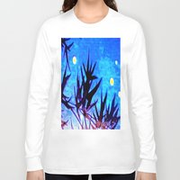 firefly Long Sleeve T-shirts featuring Firefly by Puttha Rayan Ali