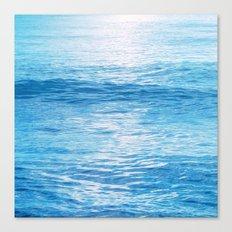 Cerulean Sea Canvas Print