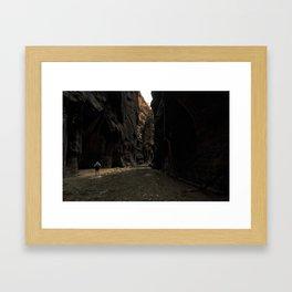 The Narrows (Zion) Framed Art Print