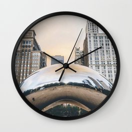 Chicago Millennium Park Wall Clock