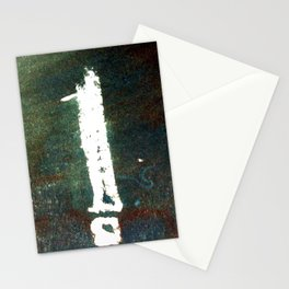 match stick on ink Stationery Cards