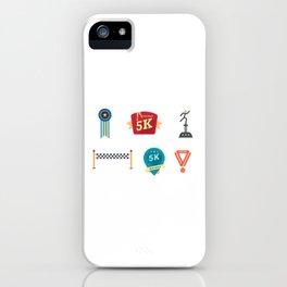 Chicago & New York City Marathon iPhone Case