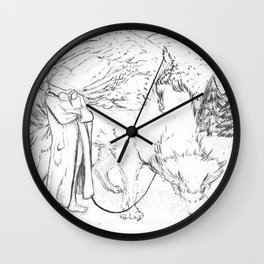 Walking the Griffin Wall Clock