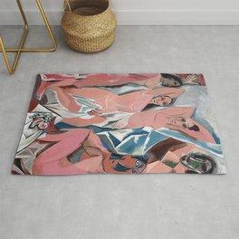 Pablo Picasso - Les Demoiselles d'Avignon 1907 - Artwork for Prints Posters Tshirts Men Women Kids Rug