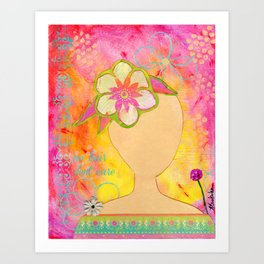 Standing Up to Cancer Art Print