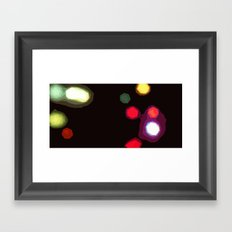 Colder than Warmer Framed Art Print
