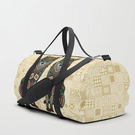 wolf ivory Duffle Bag