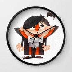 Dracula kid Wall Clock