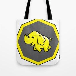 hadoop Stickers Elephant Programming Big data Sql  Developer Tote Bag