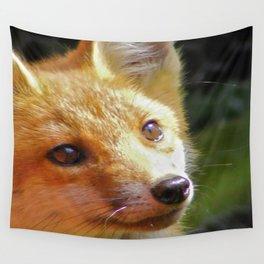 Fox Cub Wall Tapestry