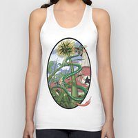 dragons Tank Tops featuring Dragons Unseen  by David Comito