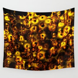 Festive Lanterns Wall Tapestry