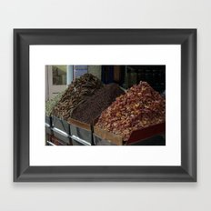 Spice shop Framed Art Print