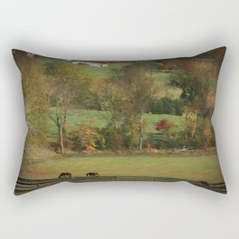 Autumn in the Country Rectangular Pillow
