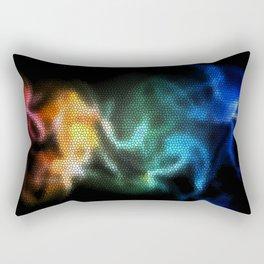 Glowing Colours  Rectangular Pillow