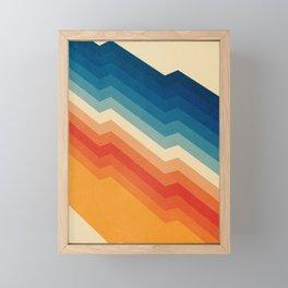 Barricade Framed Mini Art Print