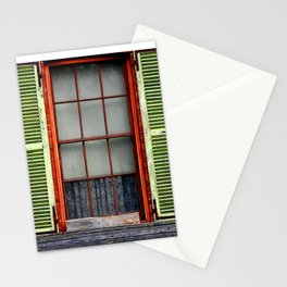 Window Shutters Stationery Cards