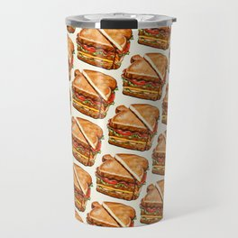 Turkey Club on White Travel Mug
