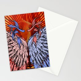wings of love2 Stationery Cards