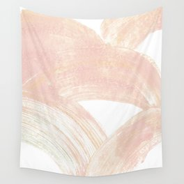 Pink Swipes Wall Tapestry
