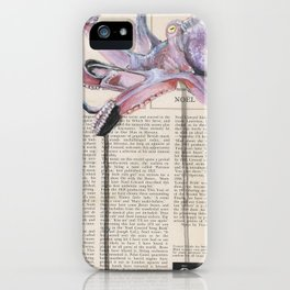 His Master's Voice - The Octopus iPhone Case
