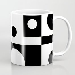 Black & White Abstract II Coffee Mug