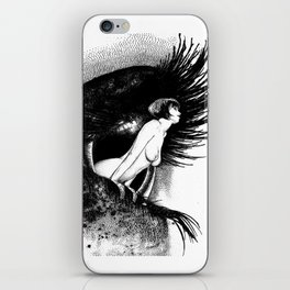 asc 602 - La spectatrice (Valentina at the gallery) iPhone Skin