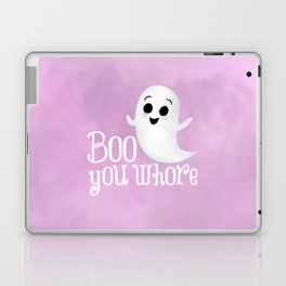 Boo You Whore Laptop & iPad Skin
