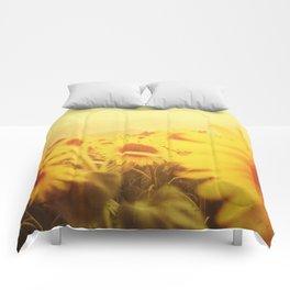 Delving in Yellow Comforters