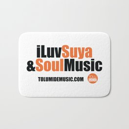 iLuv Suya & Soul Music - TolumiDE Bath Mat