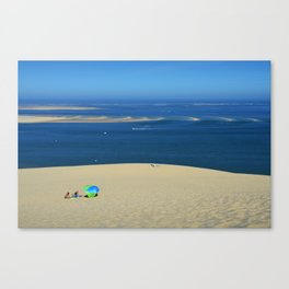 The Great Dune of Pila in Arcachon Bay Canvas Print