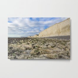 Birling Gap Metal Print