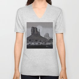 Monument Valley #3 Unisex V-Neck