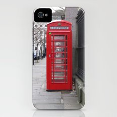 London Phone Booth iPhone (4, 4s) Slim Case