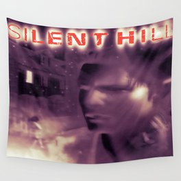 Silent Hill 1 - Ps1 Art Box Cover (NA Version) - Brazz Wall Tapestry