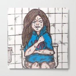 Nicki's bathroom experience Metal Print