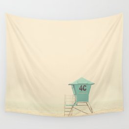 the sound of outer ocean on a beach ... Wall Tapestry