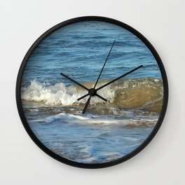 Beautiful splashing wave Wall Clock
