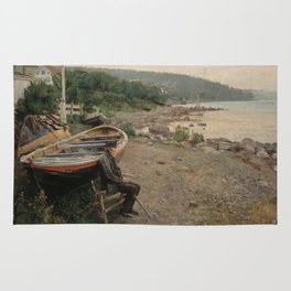 Hans Heyerdahl - View from Åsgårdstrand Rug