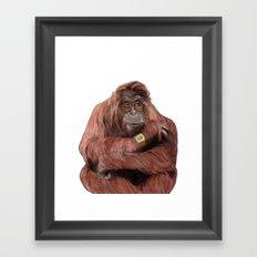 Hutan Framed Art Print