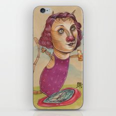 KITTY'S WATER WINGS iPhone & iPod Skin
