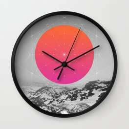 Middle Of Nowhere I Wall Clock