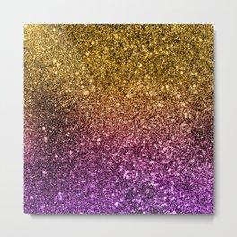 Ombre glitter #4 Metal Print