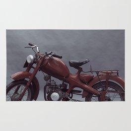 Fine art print, old moto interior design, hasselblad, still life, high quality photo (n°4) Rug