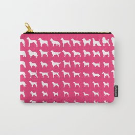 All Dogs (Pink) Carry-All Pouch