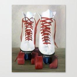 Roller Skates Canvas Print