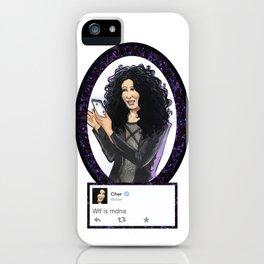 WUT iPhone Case