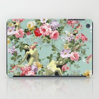 flora iPad Cases featuring Flora by mentalembellisher